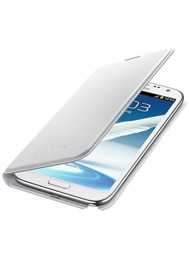 Samsung Samsung Galaxy Note 2 Uyumlu Flip Cüzdan Görünümlü Telefon Kılıf Renkli